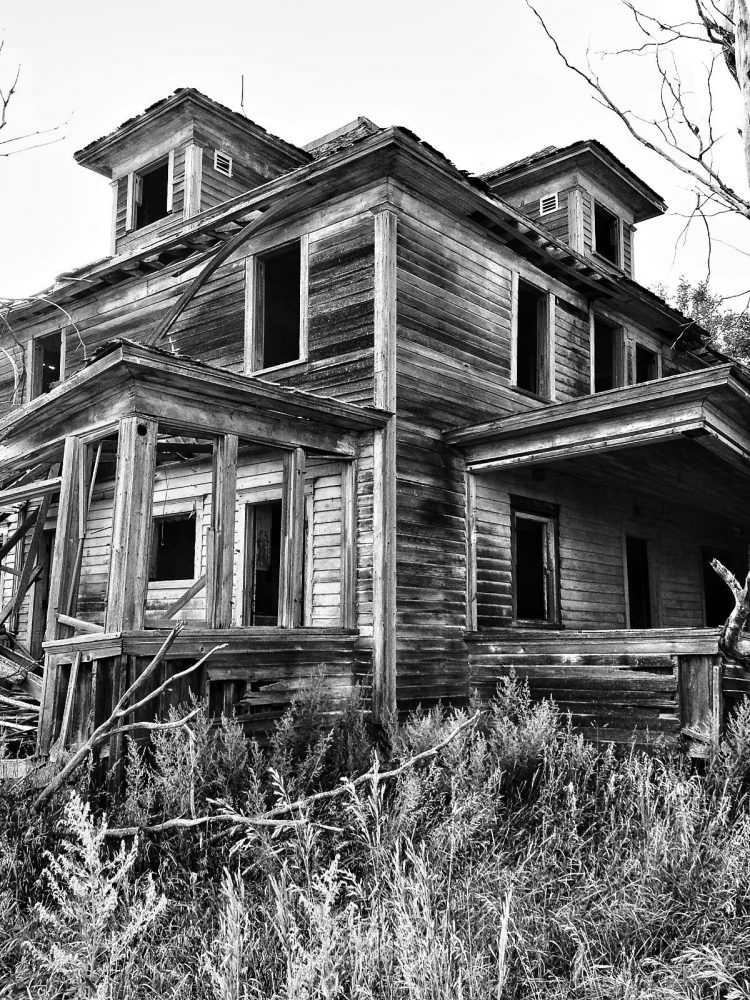 Abandoned House Reclaimed Wood Salvage Photo
