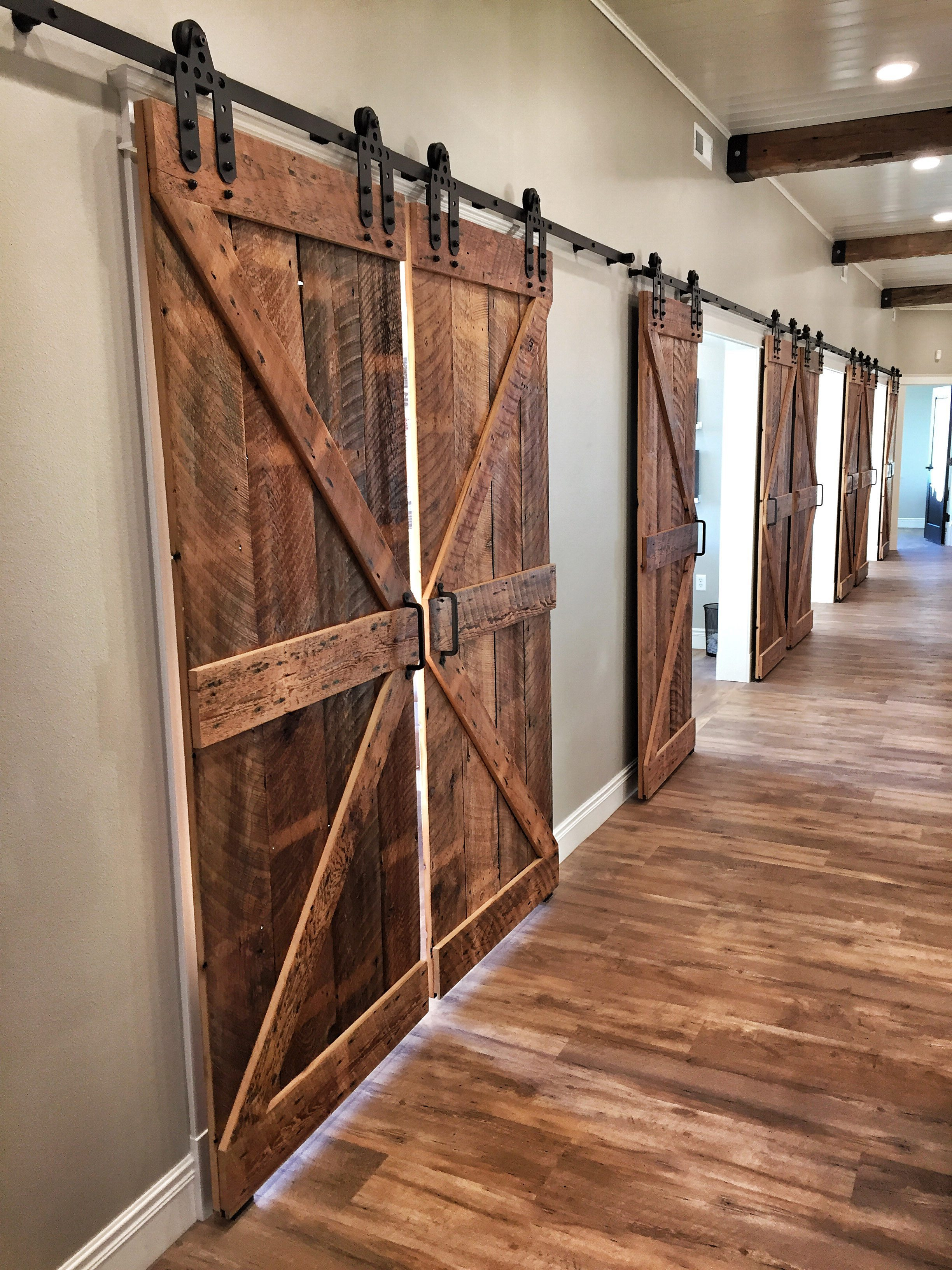 Reclaimed Wood Barn Doors Fargo Telstraus Reclaimed