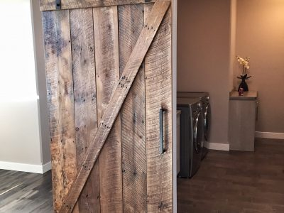 Half X Sliding Barn Door