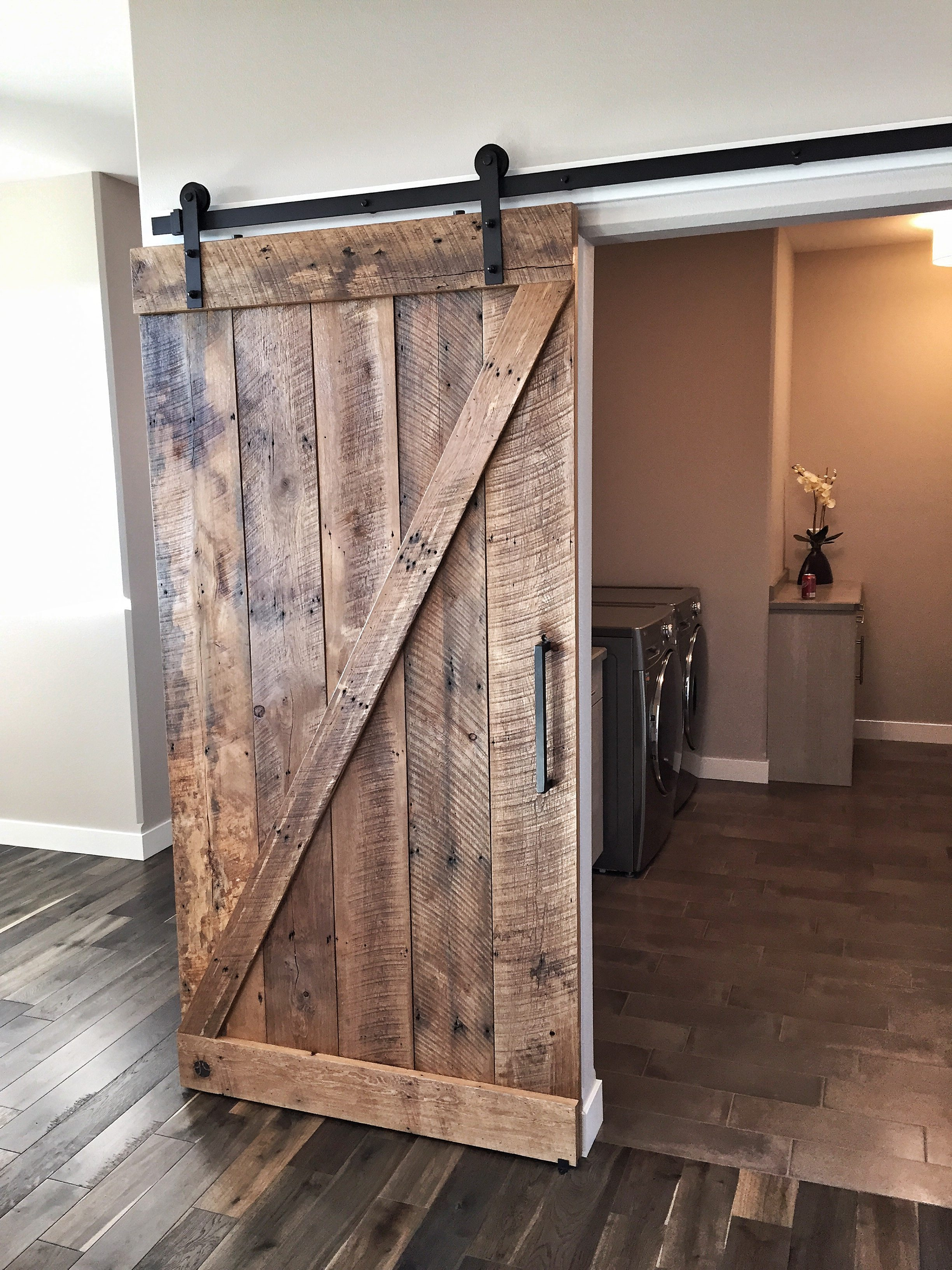 Sliding doors grain designs for Single sliding barn door