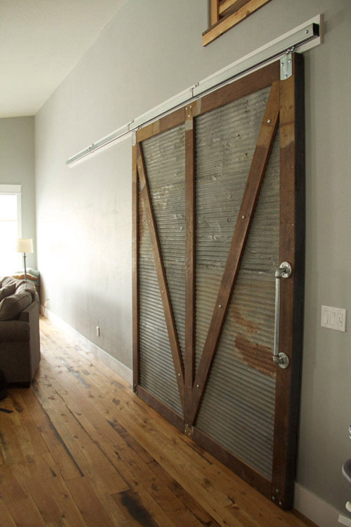 Sliding doors grain designs for Metal barn doors