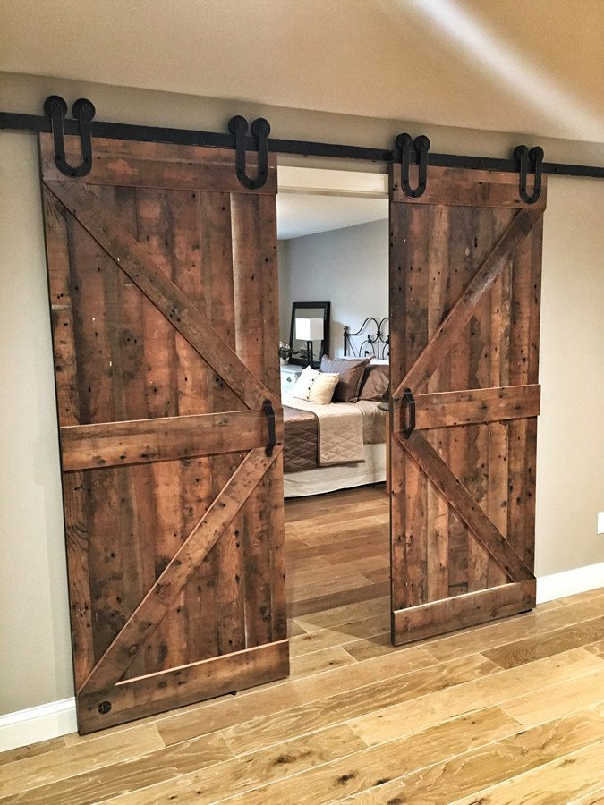 As youu0027ll see in many of the ex&le photos many of the doors we have created compliment the weathered rustic wood character aesthetic that has become ... & The Sliding Barn Door Guide: Everything you need to know about the ...