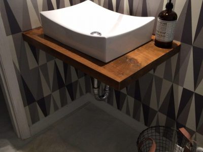 Floating Residential Wood Vanity