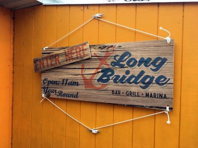 Long Bridge Detroit Lake Custom Exterior Signage